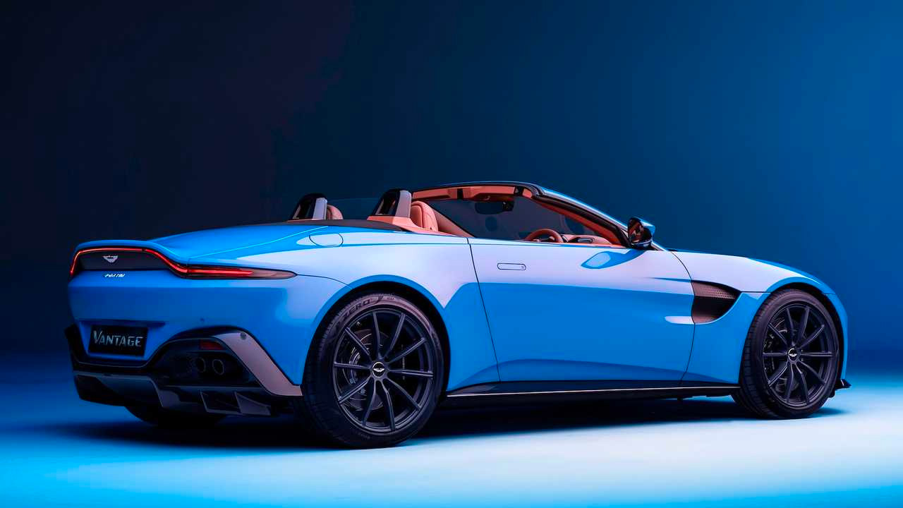 2021 Aston Martin Vantage Roadster, The World's Fastest Convertible Roof at werd.com