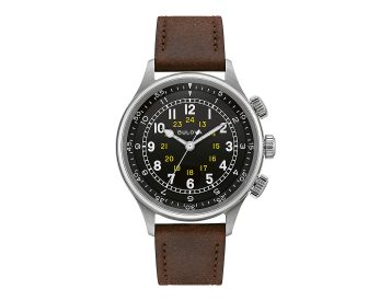 Bulova A15 Pilot Watch Revives A WWII Classic