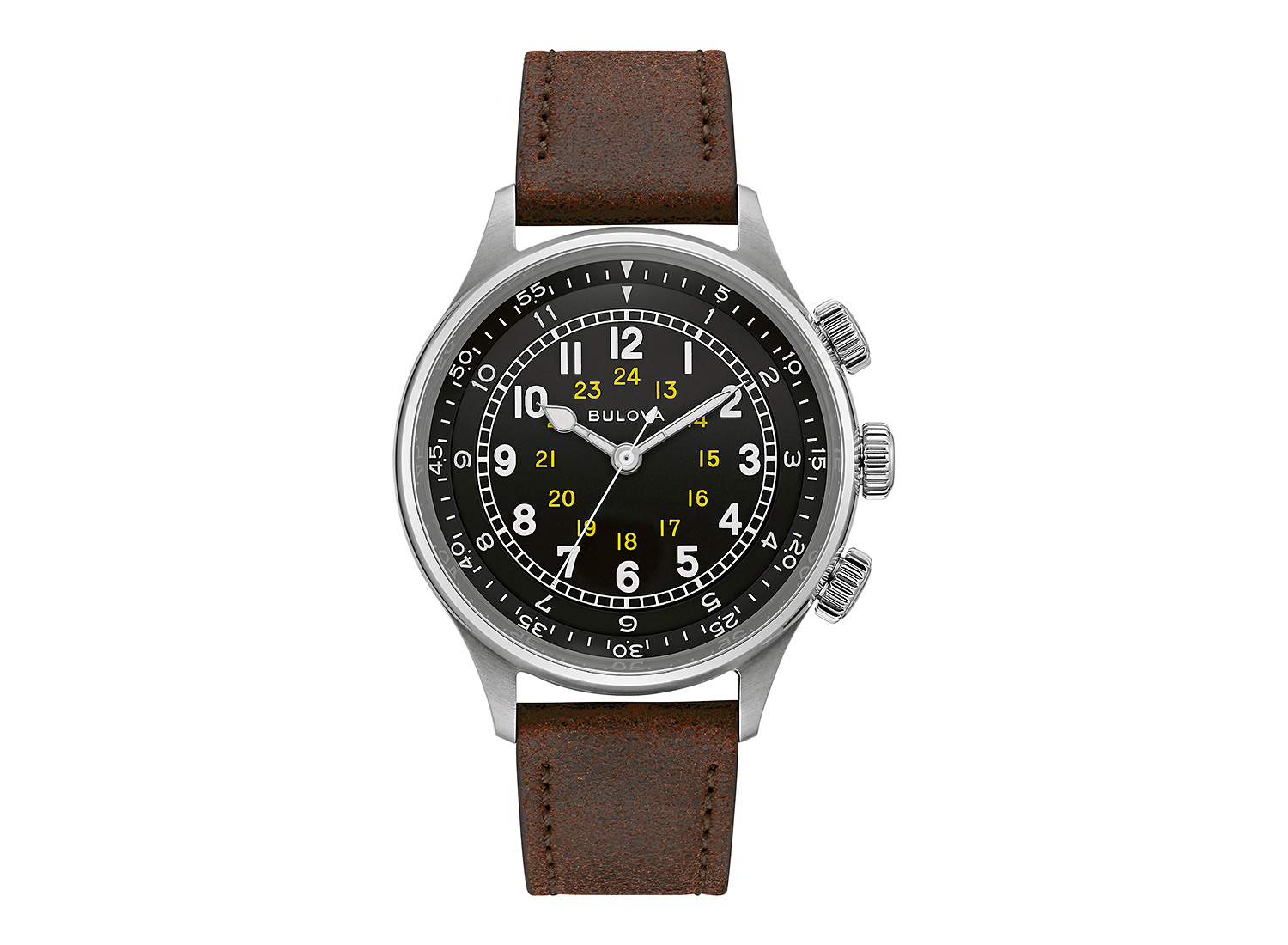 Bulova A15 Pilot Watch Revives A WWII Classic at werd.com