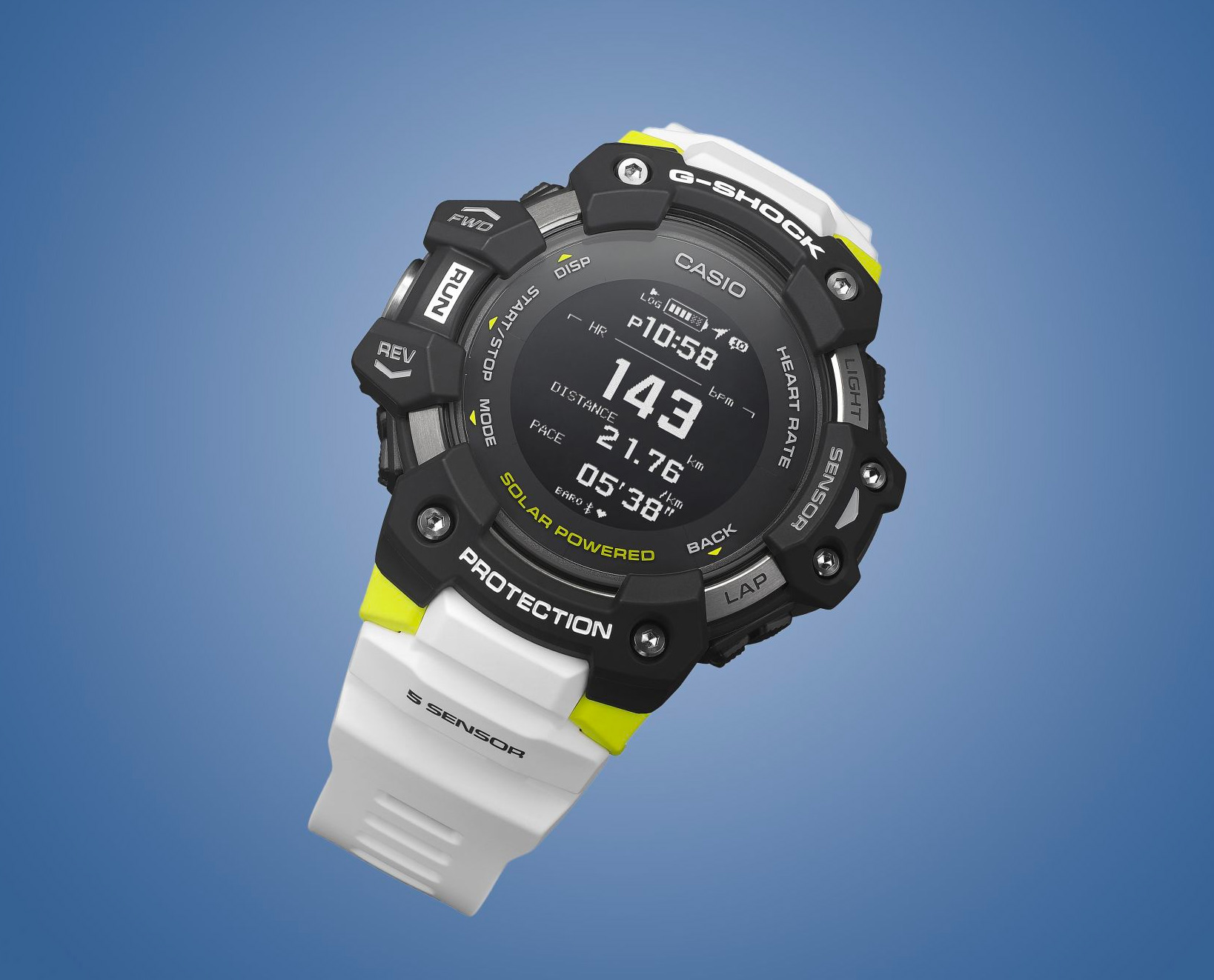Get GPS, HRM, & More with Casio's G-Shock GBD H1000 at werd.com