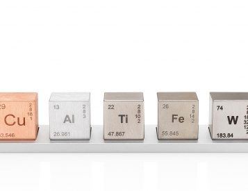 The Elemental Cube Set Brings Density To Your Desk