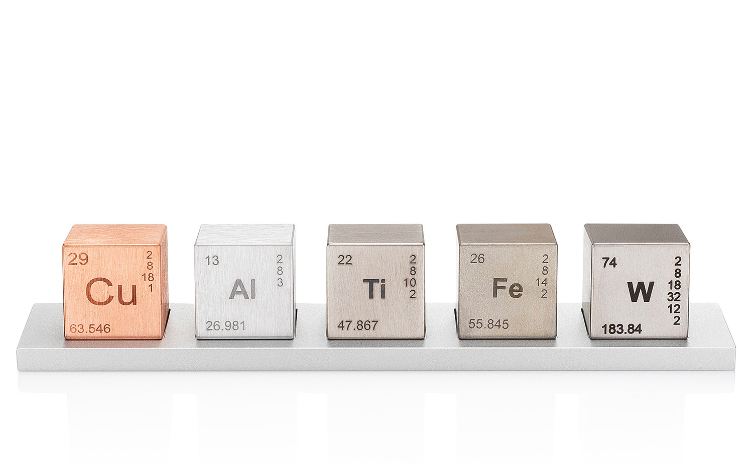 The Elemental Cube Set Brings Density To Your Desk at werd.com