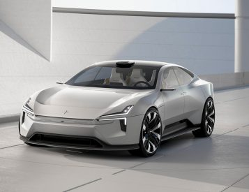 Polestar Takes Aim At Tesla with Futuristic Precept 4-Door