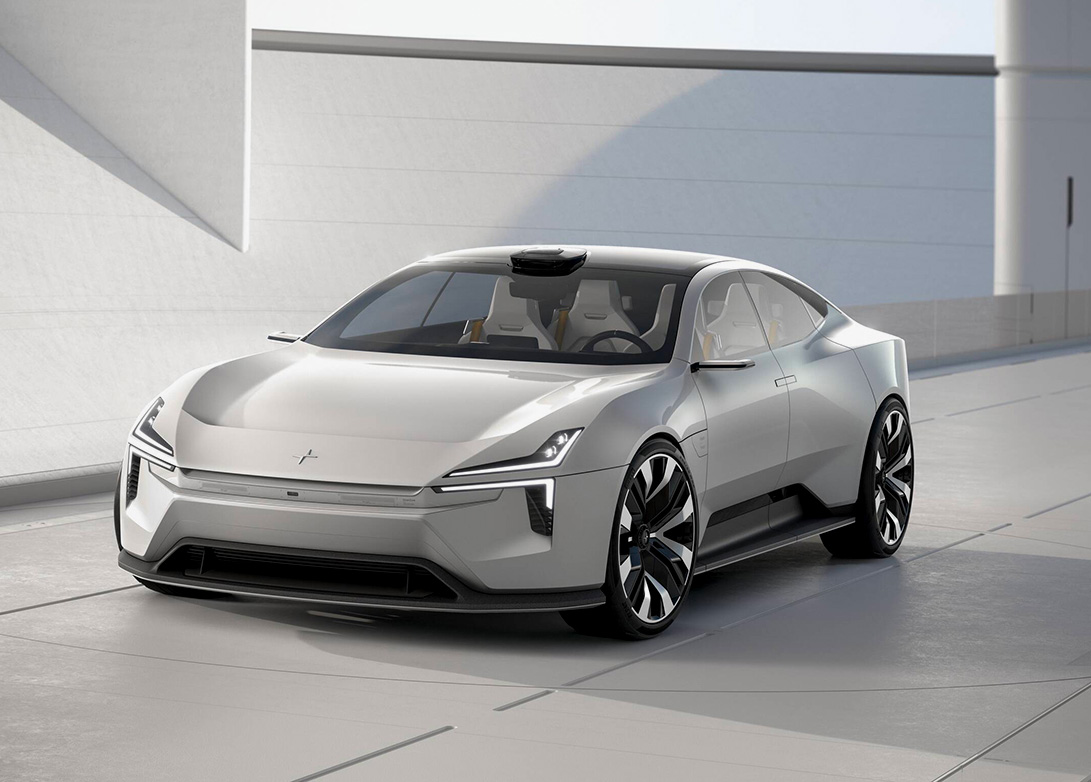 Polestar Takes Aim At Tesla with Futuristic Precept 4-Door at werd.com