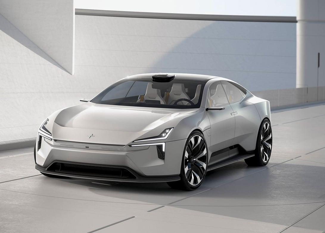 Polestar Takes Aim At Tesla with Futuristic Precept 4-Door at werd.com