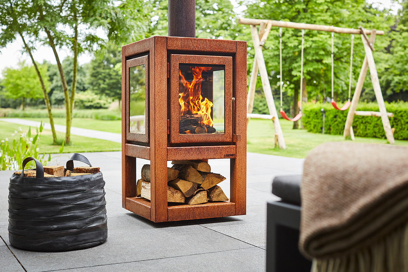 These Fireplaces from RB73 will Warm You Up To Rust at werd.com