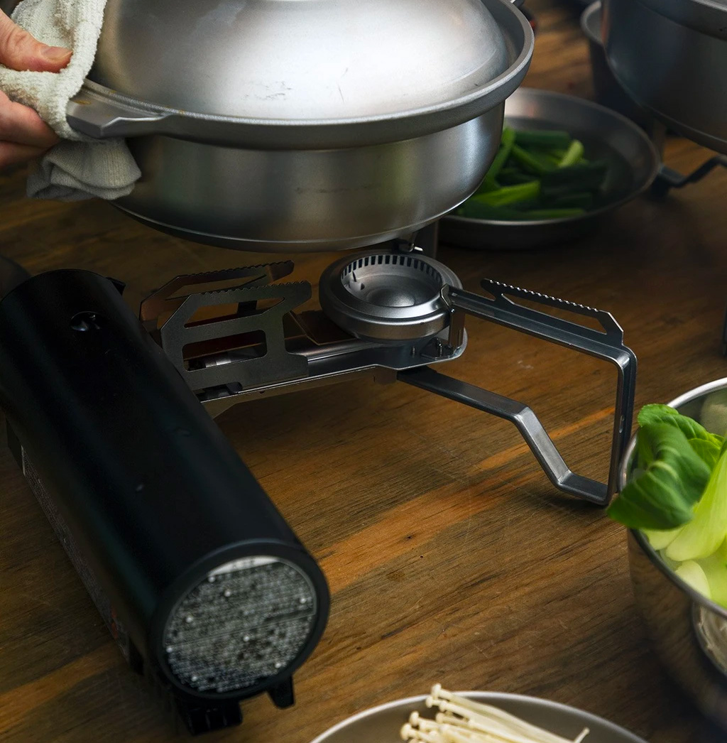 Cook Absolutely Everywhere with Snow Peak's Home & Camp Burner at werd.com