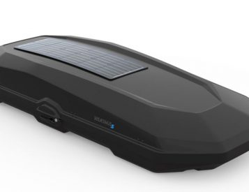 Yakima's CBX Roofbox Brings Solar Power Along for the Ride