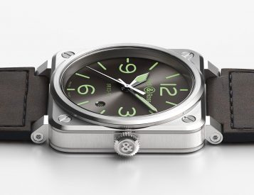 Bell & Ross Go Green with New BR O3-92 Grey LUM Automatic