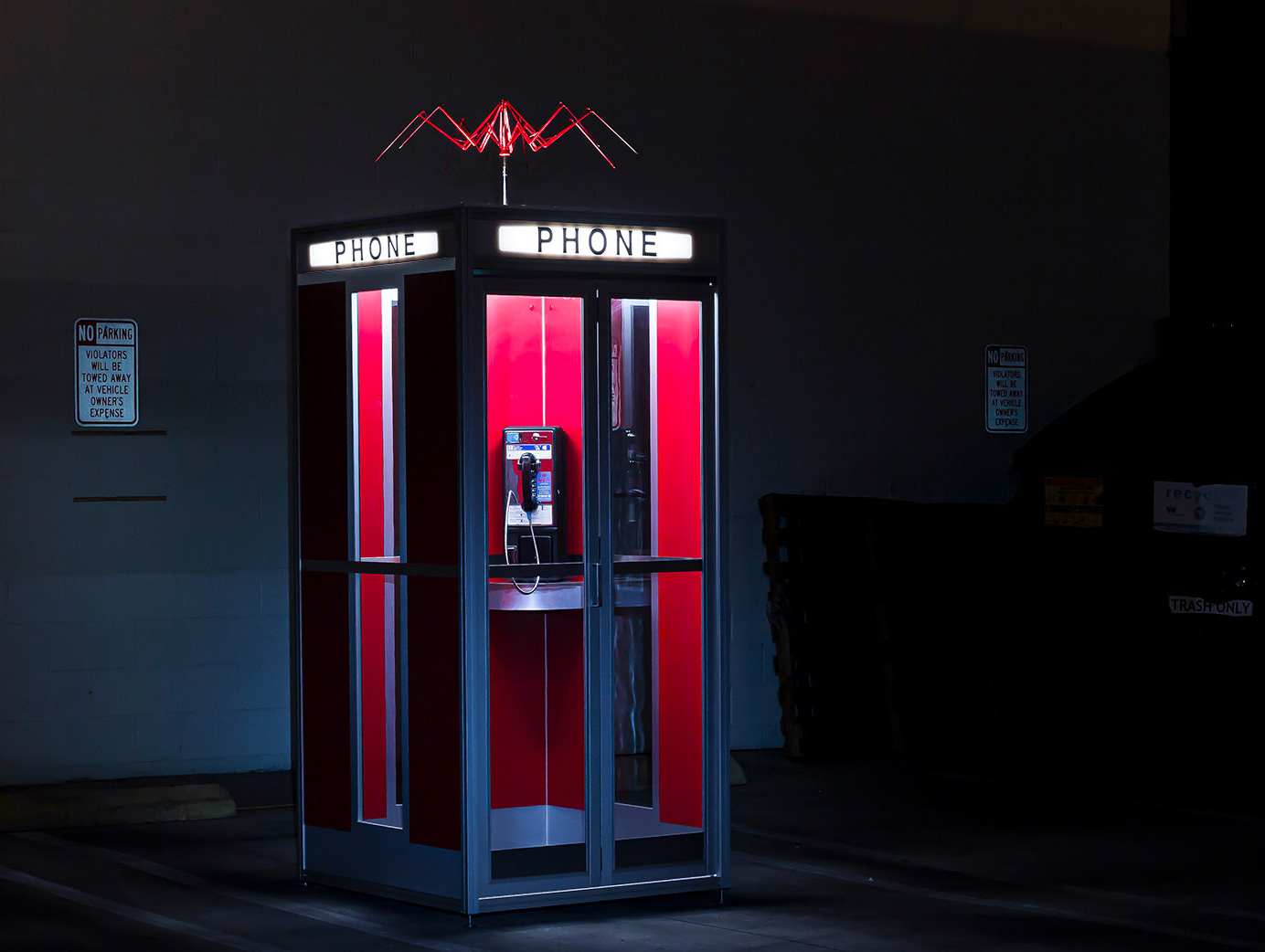 Travel Across Time in Bill & Ted's Excellent Phone Booth at werd.com