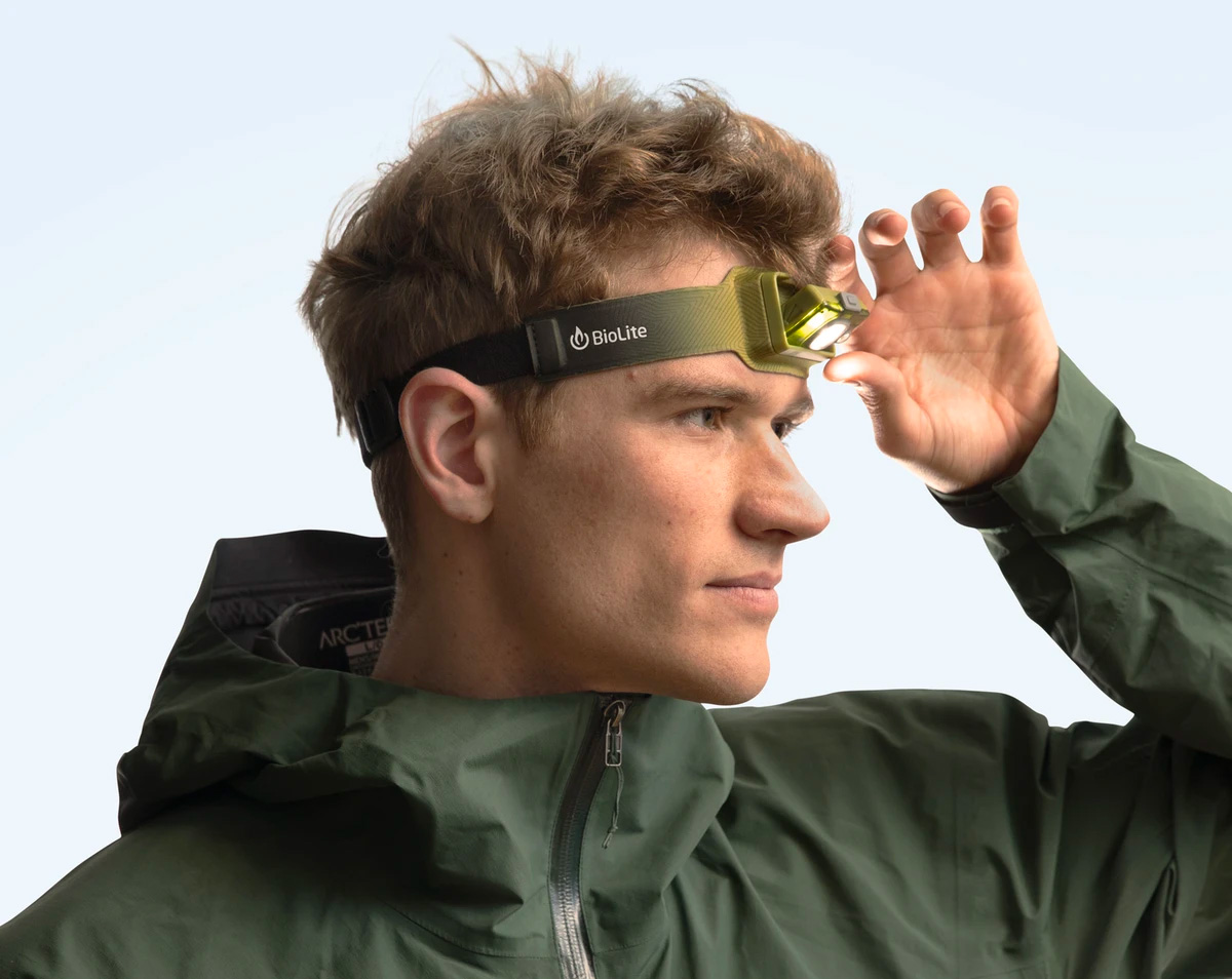 The BioLite 200 Headlamp is Lightweight & Ready To Run at werd.com