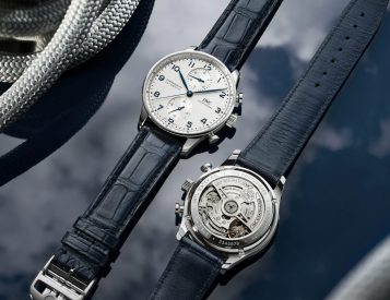 IWC Updates a Classic with New Portugieser Chronograph Line