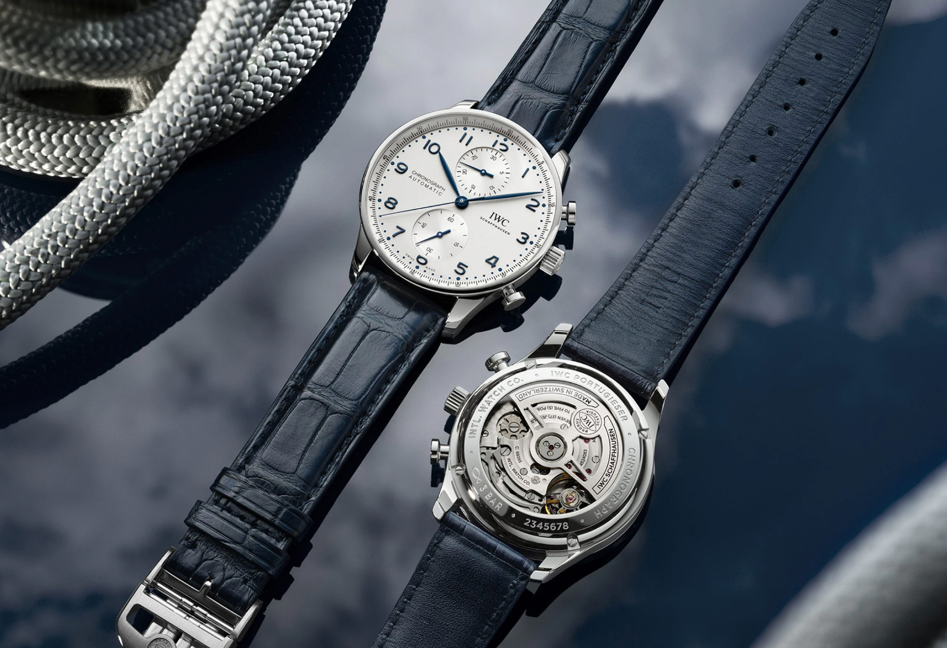 IWC Updates a Classic with New Portugieser Chronograph Line at werd.com