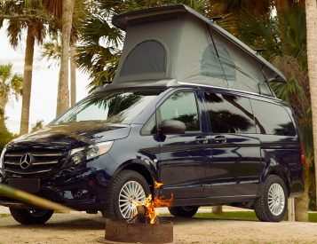 The Mercedes Metris Weekender is a Stealth Escape Vehicle