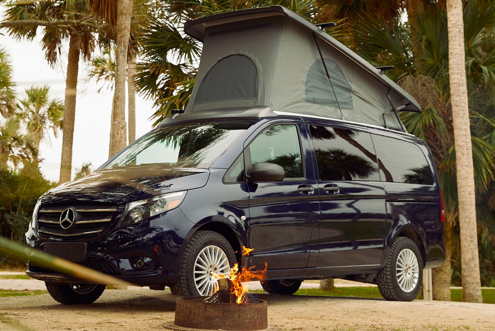 The Mercedes Metris Weekender is a Stealth Escape Vehicle at werd.com