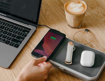 Organize & Power-Up Wirelessly with Orbitkey