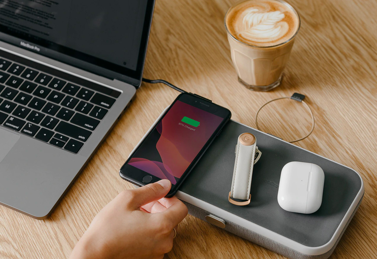 Organize & Power-Up Wirelessly with Orbitkey at werd.com