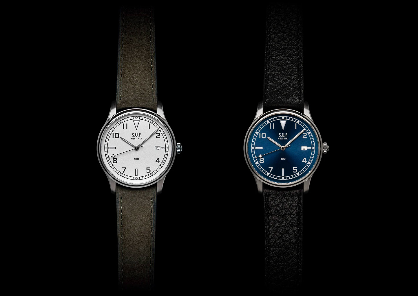 S.U.F. Introduces Limited Edition 180 Field Watch at werd.com