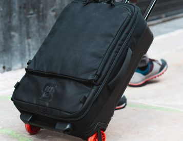Topo Designs Goes Wheels Up with Travel Bag Roller