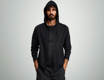 Ceramic Makes This Hoodie Virtually Indestructible