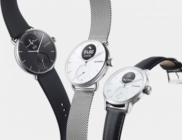 The Withings ScanWatch Tracks Heart Health 24/7