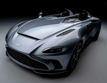 Aston Martin Rolls Out Roofless V12 Speedster