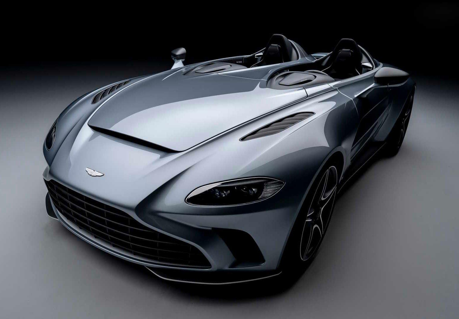 Aston Martin Rolls Out Roofless V12 Speedster at werd.com