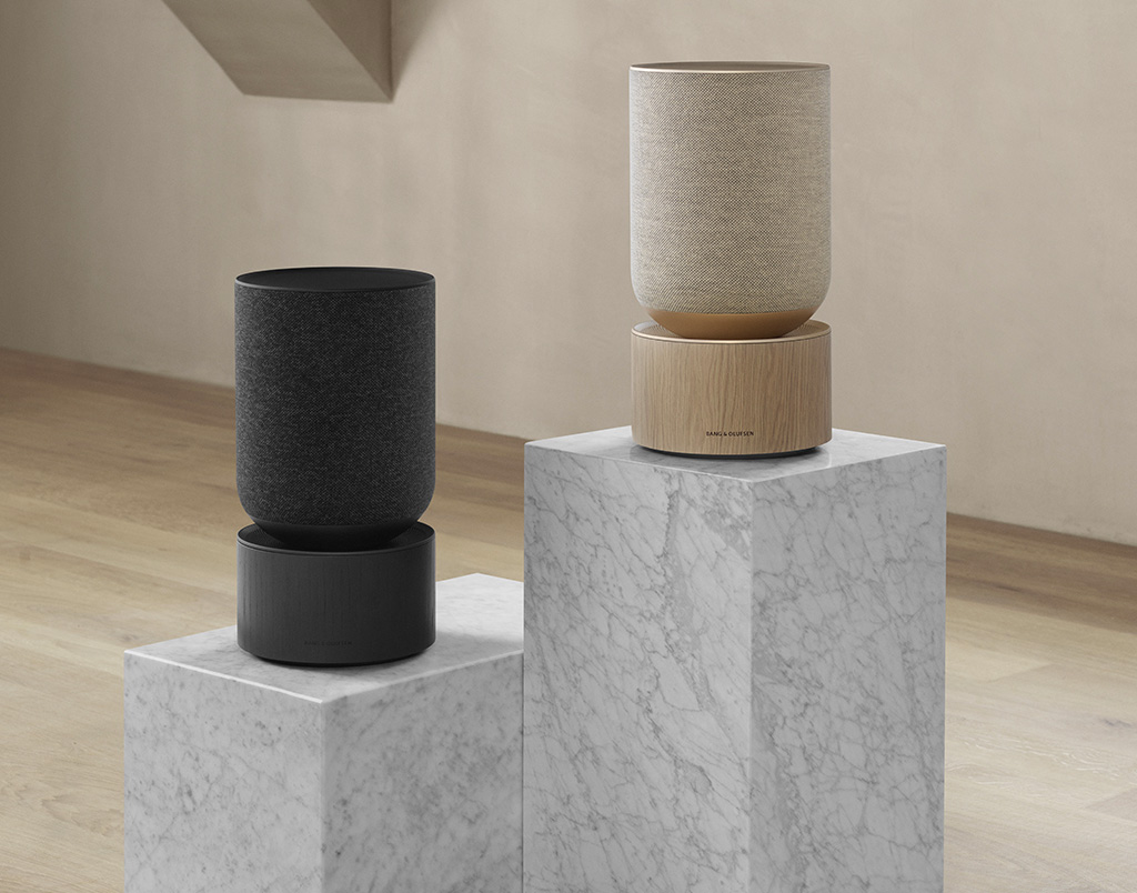 Bang & Olufsen's BeoSound Balance Brings Big Sound in a Shelf-Size Speaker at werd.com