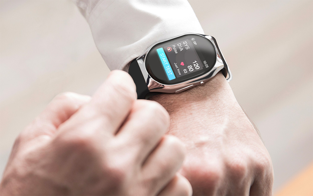 Know Your Numbers with the Blood Pressure Smartwatch at werd.com