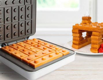 A Breakfast To Behold: The World's First Building Brick Waffle Maker
