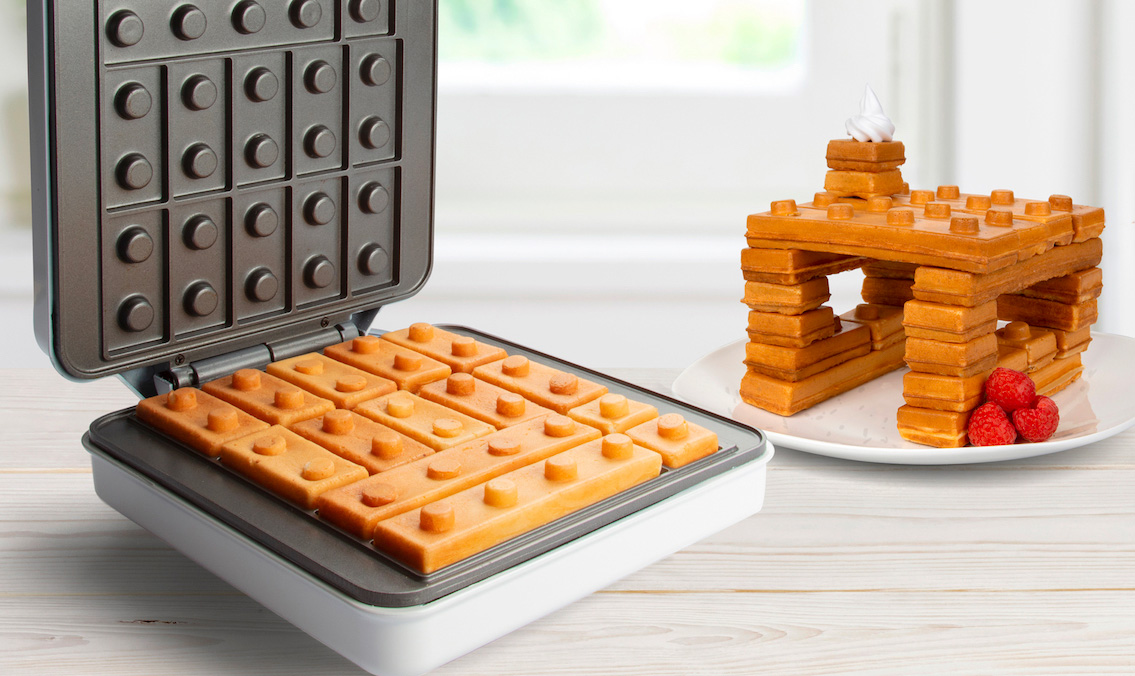 A Breakfast To Behold: The World's First Building Brick Waffle Maker at werd.com