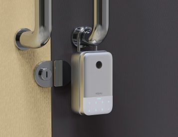 The K1 Smart Lock Box Keeps Your Property Protected
