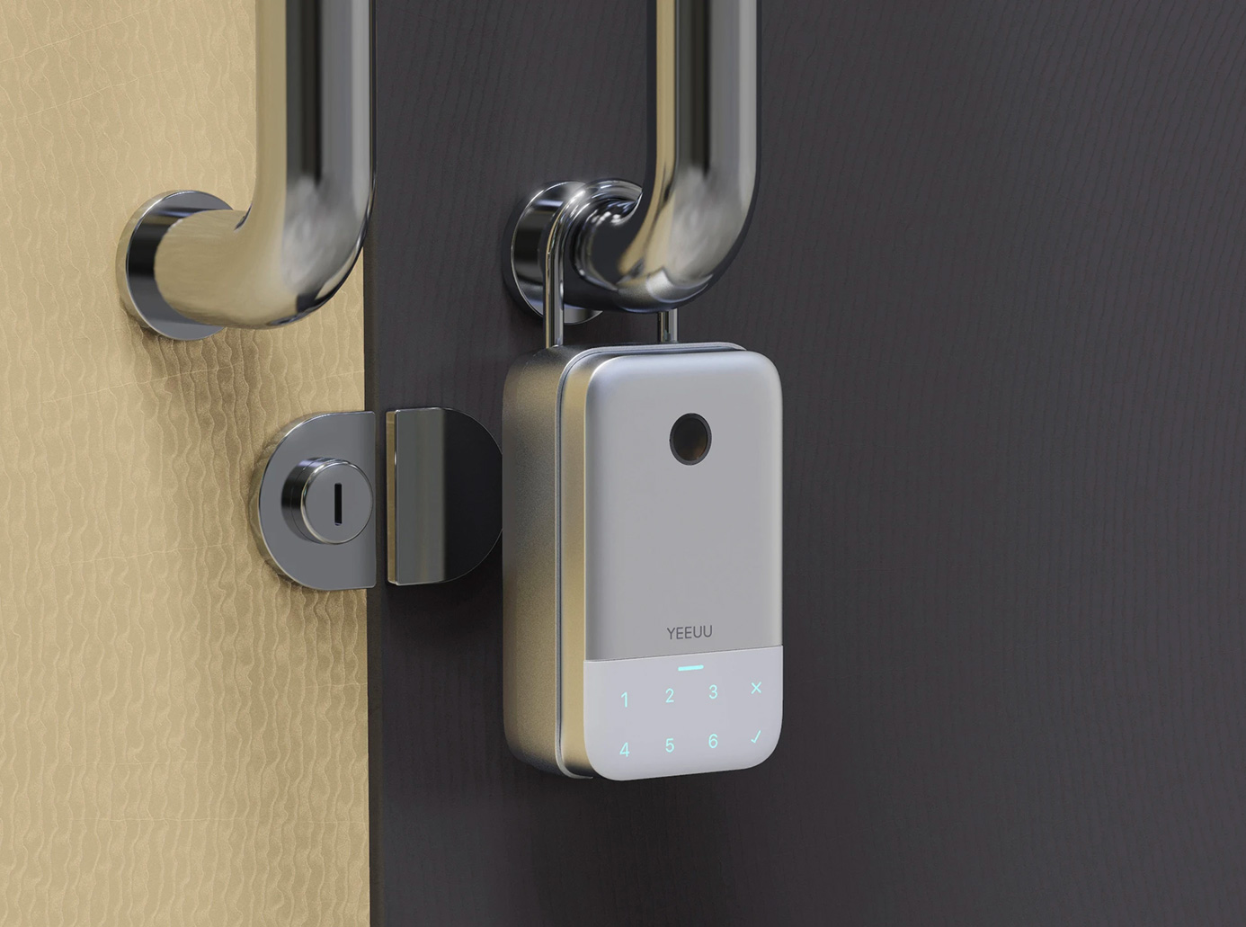 The K1 Smart Lock Box Keeps Your Property Protected at werd.com