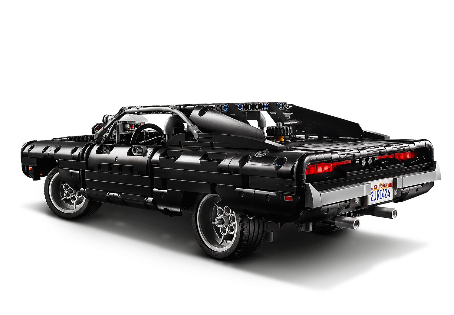 Lego Technic Rolls Out Dom's Dodge From <i>Fast & Furious</i> at werd.com