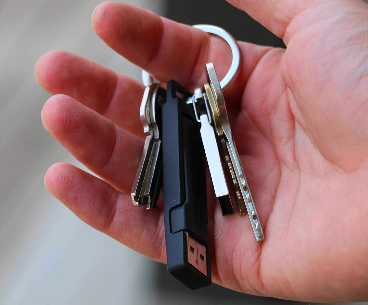 This Convenient Keychain Cable Makes Mobile Charging Easier at werd.com