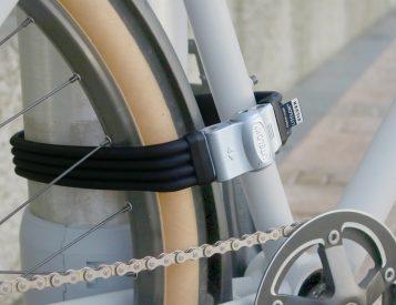 Litelok Flexi-U Silver Makes Locking Up Easier & More Secure