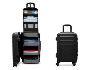 Solgaard's Carry-On Closet Eliminates Unpacking & Ocean Plastic Too