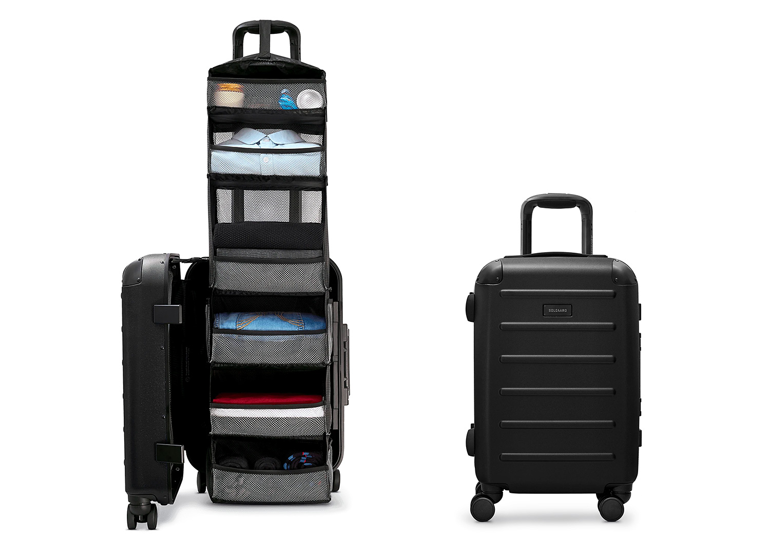 Solgaard's Carry-On Closet Eliminates Unpacking & Ocean Plastic Too at werd.com