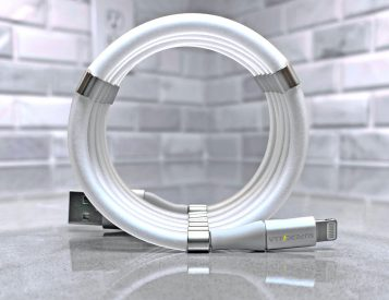SuperCalla Charging Cables Practically Coil Themselves