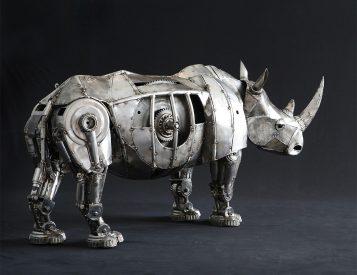 Art Imitates Nature In These Wild Steel Sculptures