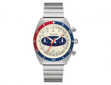 "Bulova Re-Creates a Classic with the Chronograph A ""Surfboard"""