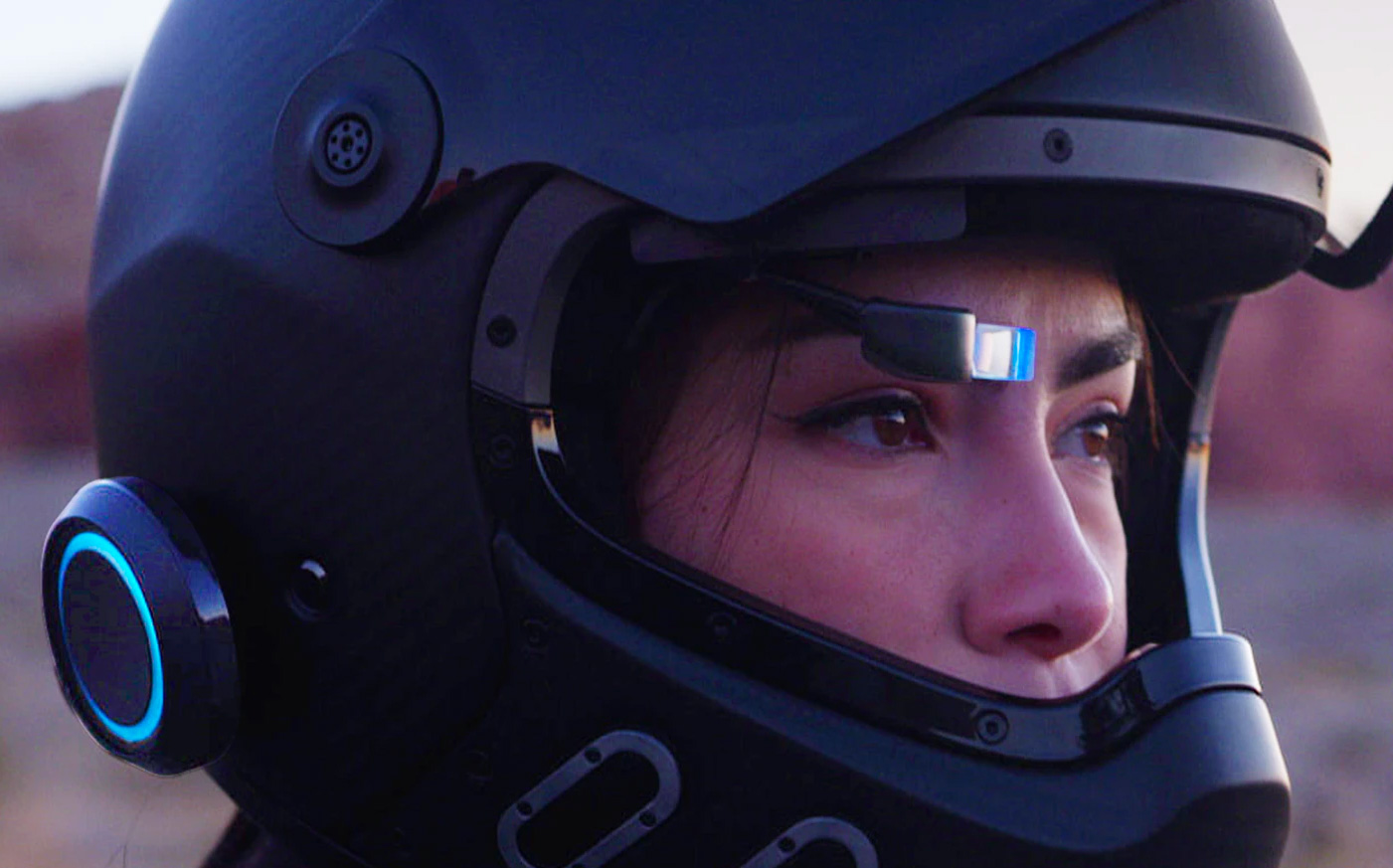 EyeRide HUD Makes Your Helmet Smarter at werd.com