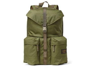 Proper Carry: Filson's Ripstop Nylon Backpack