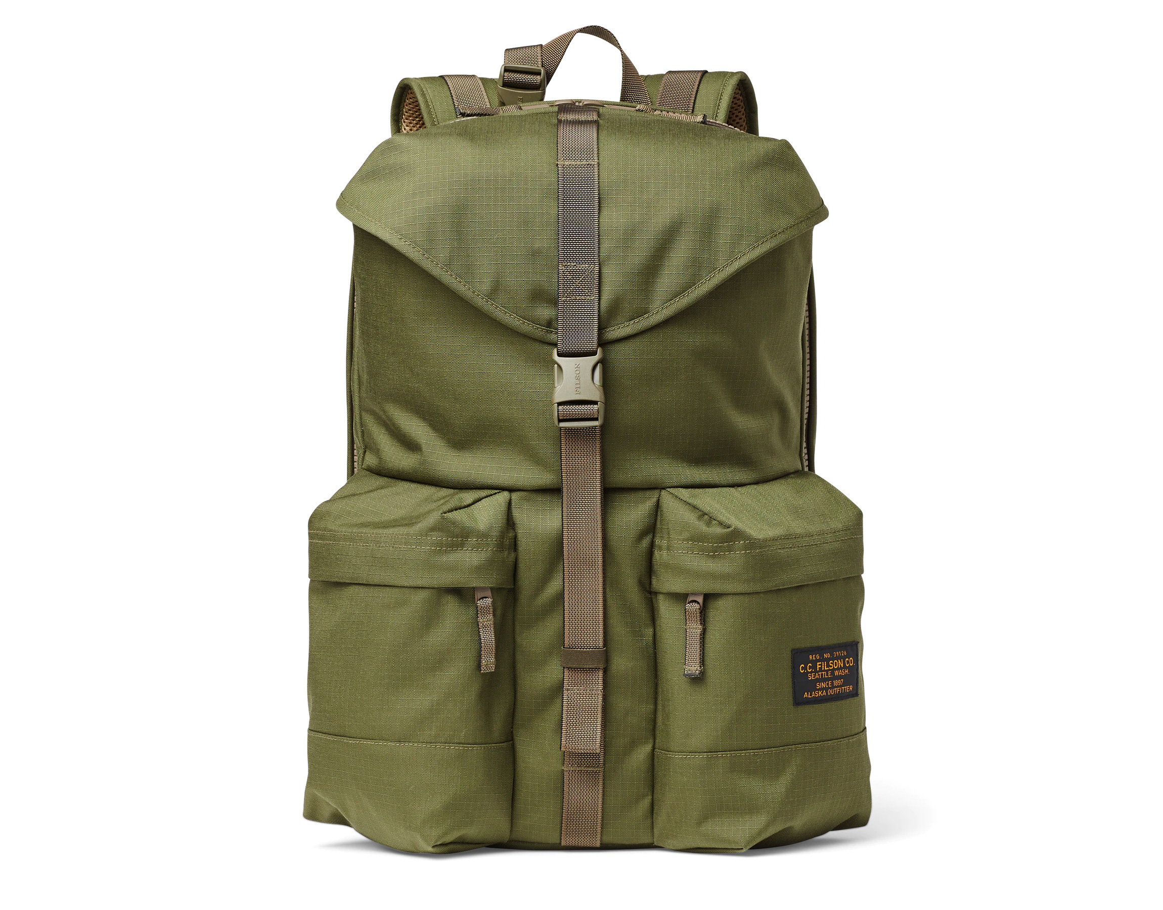 Proper Carry: Filson's Ripstop Nylon Backpack at werd.com