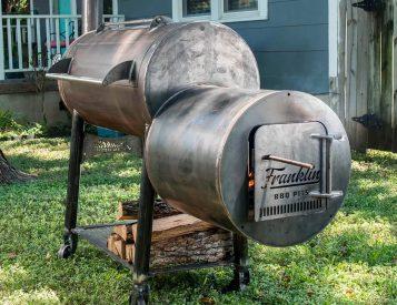 Franklin Barbecue Pits Are No Joke, All Smoke