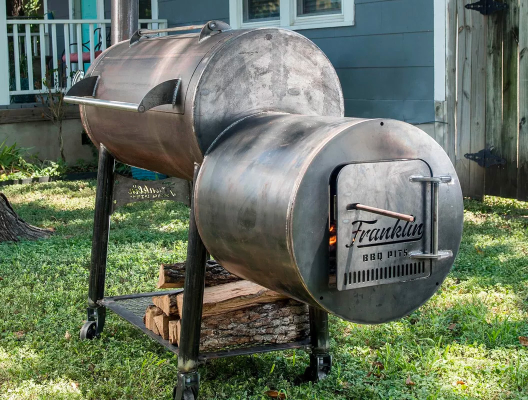 Franklin Barbecue Pits Are No Joke, All Smoke at werd.com
