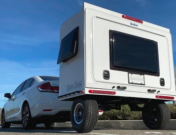 The Hitch Hotel Traveler is a Super Compact Camper
