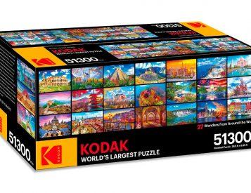 Kodak Created the World's Largest Jigsaw Puzzle