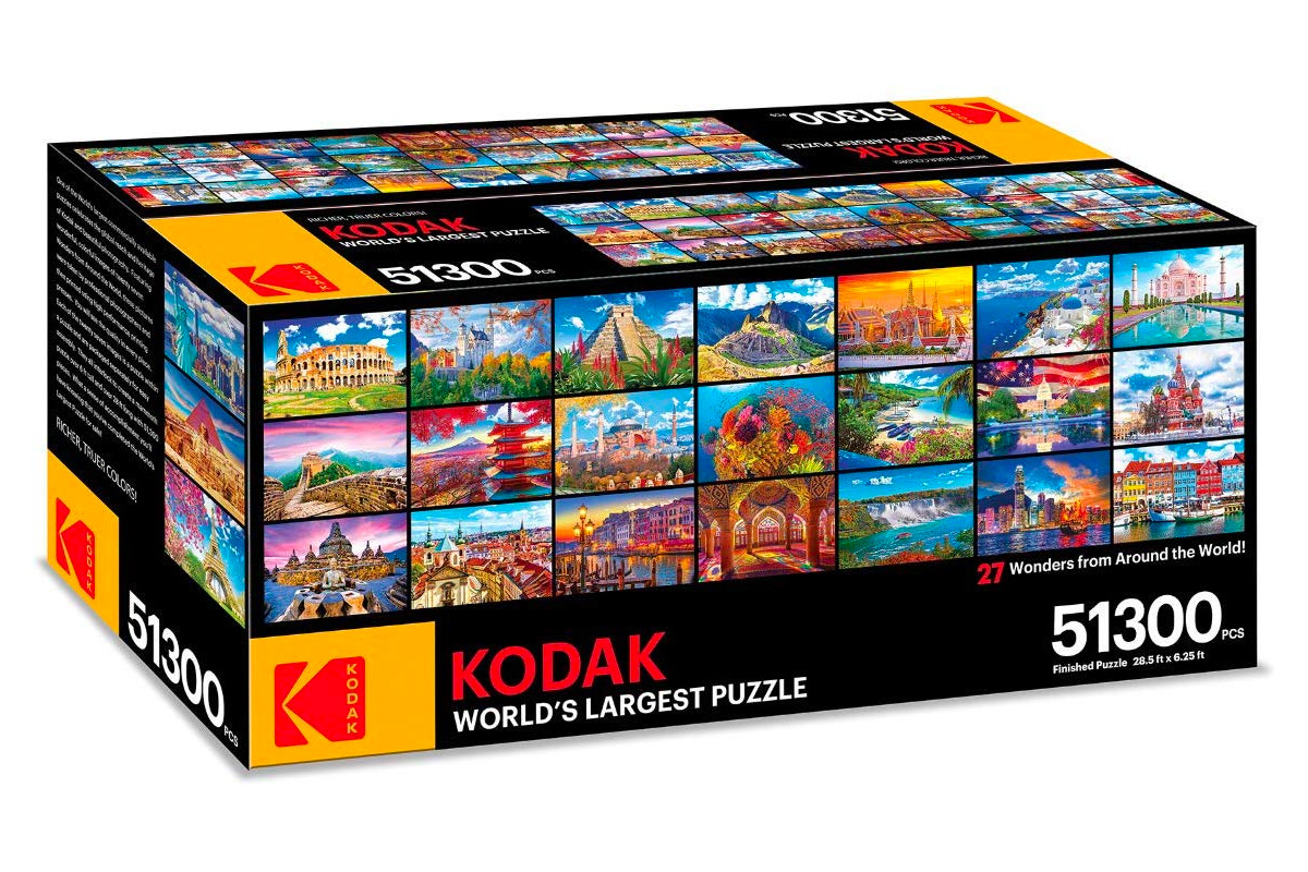 Kodak Created the World's Largest Jigsaw Puzzle at werd.com