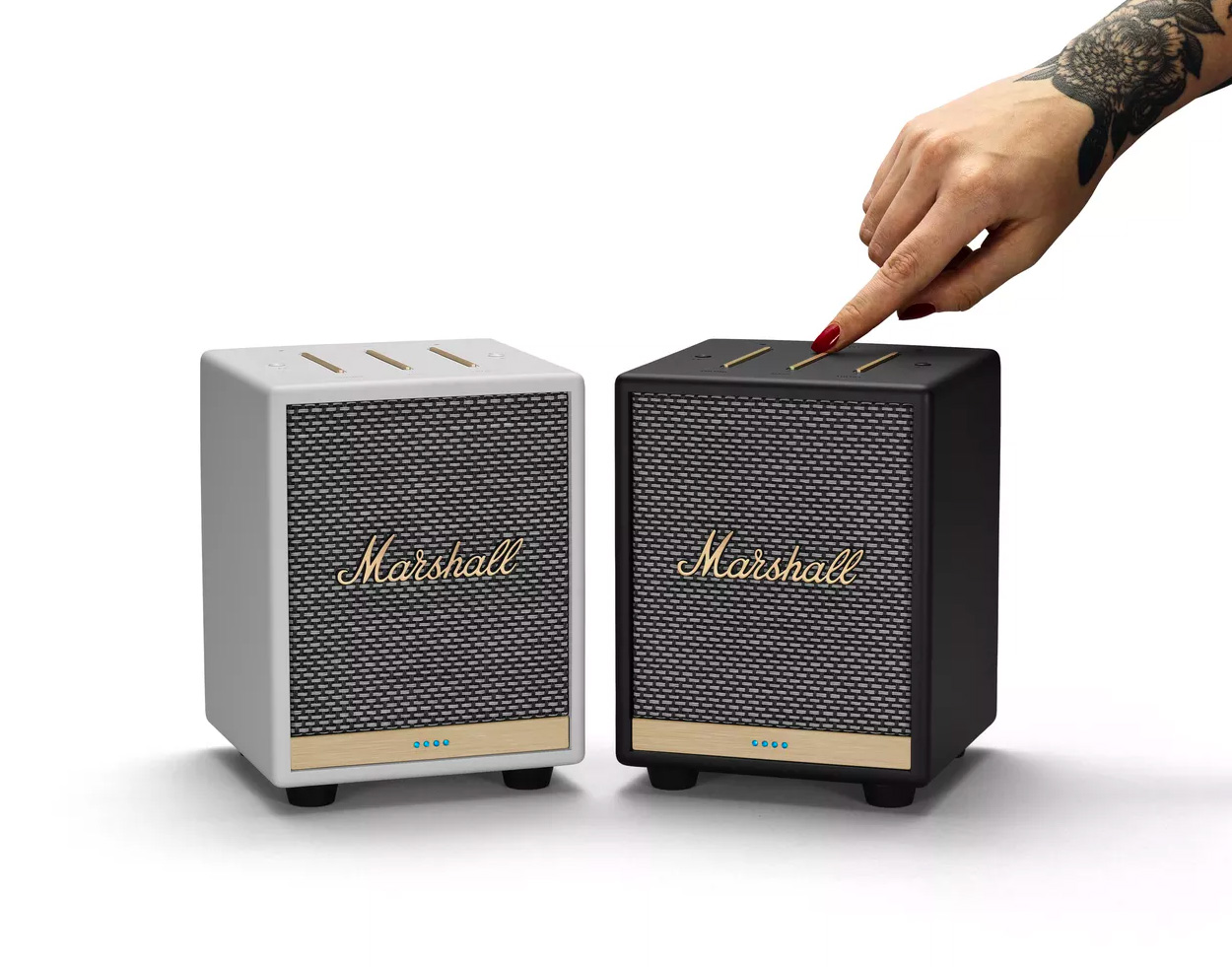 Marshall Put Alexa & AirPlay2 in the Uxbridge Voice Speaker at werd.com